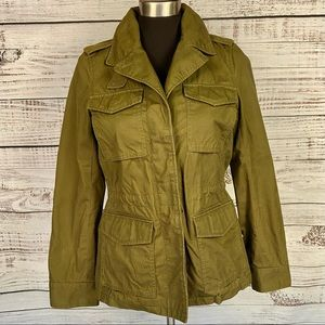 MADEWELL Outbound Army Green Field Utility Jacket